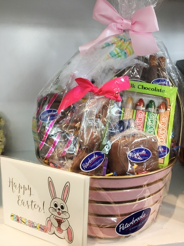 Easter is almost here easter basket you could dream of from white milk 64 dark 72 dark vegan to sugar free chocolate we have got something for everyone negle Images